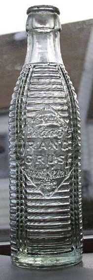 1920 Orange Crush Bottle