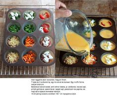 Egyszerű tojásos muffinok