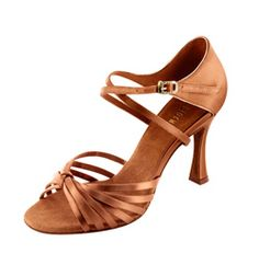"""This 3"""" Latin Ballroom sandal is a favorite of #DWTS star #ChelseaHightower. <3"""