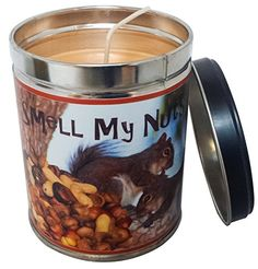 Banana Nut Bread Scented Candle in 13 Ounce Tin with a Smell my Nuts Label By Our Own Candle Company >>> See this great product.