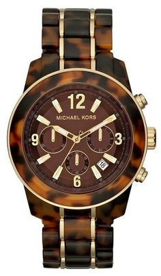 Michael Kors - Carey Marrón Oscuro