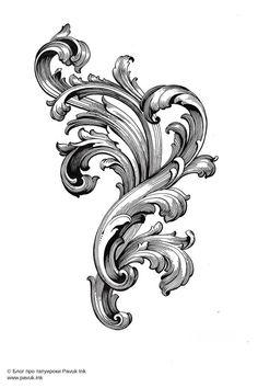 New Tattoos, Tribal Tattoos, Tattoos For Guys, Filigrana Tattoo, Tattoo Design Drawings, Tattoo Designs, Filagree Tattoo, Osiris Tattoo, Molduras Vintage