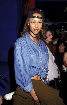 Tyra Banks' 25 Best Beauty Looks Fashion Models, 90s Models, 90s Fashion, Fashion Outfits, Fashion Trends, Fashion Stores, Beautiful Black Women, Beautiful People, Flaunt Magazine