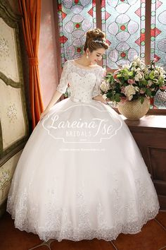 Find More Wedding Dresses Information about Vestidos De Noiva Fashion Backless Cheap Plus Size Long Sleeve Lace Wedding Dresses 2014 Bandage Bling Ball Gown,High Quality Wedding Dresses from Lareina Bridal Co., Ltd on Aliexpress.com
