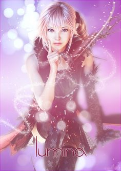 Lumina - lightning-returns-final-fantasy-xiii Photo - First time I saw her I thought that she is Serah