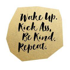 FREEBIE  //  WAKE UP. BE KIND.