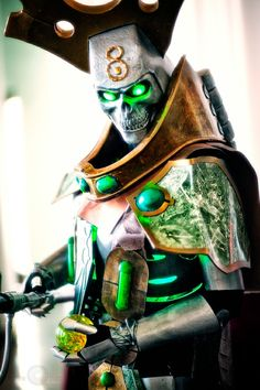 Necron Lord from Warhammer 40,000