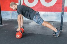 7. Kettlebell Push-Up