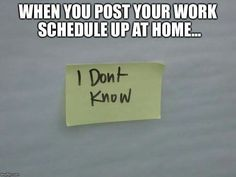 True story. Can't plan anything.