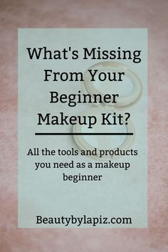 What's missing from your beginner makeup kit? All the tools and products you nee. What's missing from your beginner makeup kit? All the tools and products you need as a makeup beginner Beginner Makeup Kit, Makeup Tutorial For Beginners, Jeffree Star, Simple Makeup, Natural Makeup, Creative Makeup, Makeup Tools, Makeup Brushes, Makeup Ideas