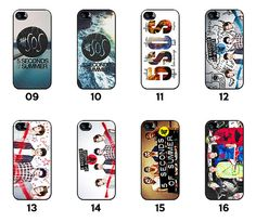 5SOS 5 seconds of Summer iphone 4 4s case iphone by SouvenirOnline  I WANT THEM!! ALL OF THEM