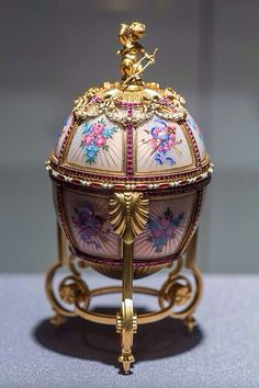 Fabérge Imperial Russian Jewelled Egg.