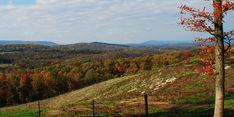 Hedgesville, West Virginia, Canon Hill overlook.