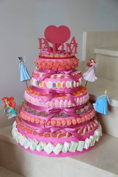 gâteaux et pieces montees de bonbon, bonbon cacher,bonbon parvé, Torta Candy, Candy Cakes, Sweet Cakes, Marshmallow, Birthday Cake, Party, Anna, Quick Dessert, Goodies