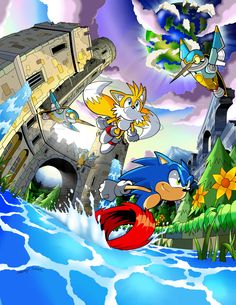 Sylvania Castle Zone by *Dantemustdie00 on deviantART (So in love with this guy's Sonic art)
