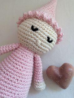 Lulù, sonaglio, bambolina, crochet, su ordinazione, amigurumi, uncinetto di FaccioRifaccio su Etsy