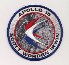 Apollo 15 Mission Patch (embroidered)