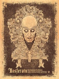The Geeky Nerfherder: #CoolArt: 'Nosferatu' (Coffin Edition) by Timothy Pittides