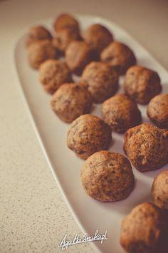 slodkie-kuleczki-daktylowe-zdrowe-slodycze-4 Candy Recipes, Sweet Tooth, Cereal, Gluten Free, Cookies, Breakfast, Cake, Desserts, Food