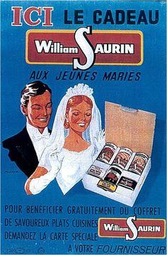 C'est bien connu, la jeune mariée ne sait pas cuisiner . Mais, gardera-t-elle son mari avec les conserves William Saurin ?