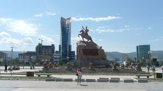 Ulaanbaatar - the capital of Mongolia