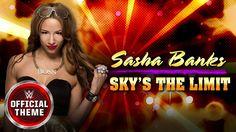 Sasha Banks - Sky's the Limit (Official Theme) Her Music, Good Music, Amazing Music, Sasha Banks Theme, Faith Hill, Wonder Woman, Sky, Songs, Youtube