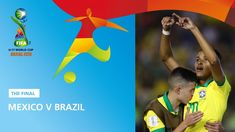 Brazil came from behind to secure a victory over Mexico on Sunday night and win the FIFA World Cup at Brasilia's Estadio Bezerrao. Match Highlights, Fifa World Cup, Fifa U17, Victorious, Finals, Brazil, Mexico, Final Exams