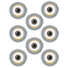 minion eyes - Google Search Despicable Me Party, Despicable Minions, Minion Party, Minion Theme, Minion Birthday, Baby Birthday, Drakes Bday, Minions Eyes, Minion Banana