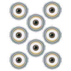 minion printable eyes | INSTANT DOWNLOAD Minion Eyes ( 3 inch ) - for Balloon, Stickers ...