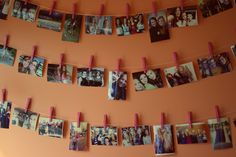 Room decorations Or for homework and assignments that are due or anything, really This is a neat idea!
