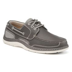 Chaps Bellmore Men's Boat Shoes, Size: medium (10.5), Grey
