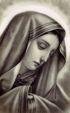 All about Mary. — Virgen de los Dolores Divine Mother, Blessed Mother Mary, Blessed Virgin Mary, Virgen Mary Tattoo, 7 Sorrows Of Mary, Spiritual Paintings, Religious Paintings, Mother Mary Tattoos, Maria Tattoo