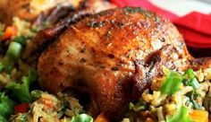 This is a very delicious herb roasted cornish hens recipe! I bet you haven't tasted better! Thanksgiving Recipes, Holiday Recipes, Great Recipes, Favorite Recipes, Christmas Recipes, Dinner Recipes, Roasted Cornish Hen, Cornish Hens, Cornish Hen Recipe Easy