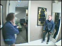 Ellen scares Richard Simmons on her show