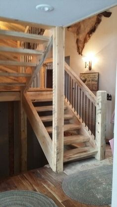 8 Mind Blowing Diy Ideas: Attic Before And After Bedroom Suites tiny attic wheels.Attic Staircase Re Staircase Remodel, Attic Staircase, Basement Stairs, Basement Bedrooms, Attic Rooms, House Stairs, Staircase Design, Attic Bathroom, Attic Ladder