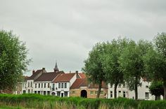 Looking to the Village - Damme, Belgium