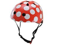 Kiddimoto Kids Helmet Red Dotty Small 25 years >>> Read more at the image link. (This is an affiliate link) Cool Bike Helmets, Helmets For Sale, Kids Helmets, Cycling Helmet, Bicycle Helmet, Mtb Bike, Bmx, David Beckham Kids, Waterfalls