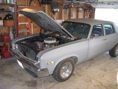 1973 Chevrolet Nova LS Muscle Car by CRUISIN'73 http://www.musclecarbuilds.net/1973-chevrolet-nova-ls-build-by-cruisin-73