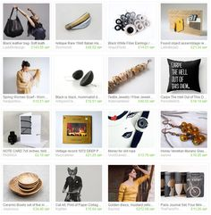 'Carpe the hell out of this diem' Etsy treasury collection featuring my note card next to other beautiful items, blog post by PASiNGA