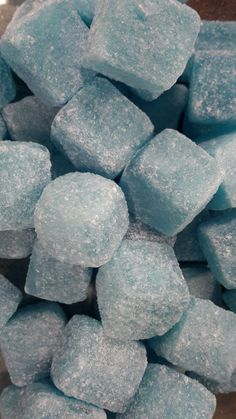 blue raspberry cubes fruit flavoured boiled sweets from Blue Sweets, Cubes, Blueberry, Raspberry, Candy, Fruit, Food, Berry, Essen
