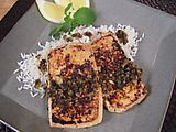 Picture of Crispy Pressed Tofu with Garlic and Mint Recipe