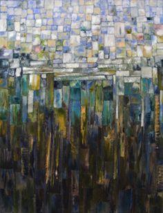 "Saatchi Online Artist: Arwen Flowers; Acrylic, 2012, Painting ""Let the Silt Settle"""