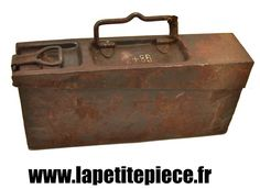 Caisse à munitions Allemande BDN 40 pour MG38