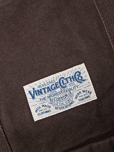 Arthur Weekend Bag - ROE Label Tag, Gentleman Style, Jack Jones, Vintage Outfits, Typography, Graphic Design, Logo, Diy, Letterpress