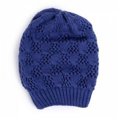 Rib End Blue Fullah Sugah Knitted Hat Winter Is Coming, Knitted Hats, Knitting, Blue, Fashion, Knit Hats, Tricot, Fashion Styles, Knit Caps