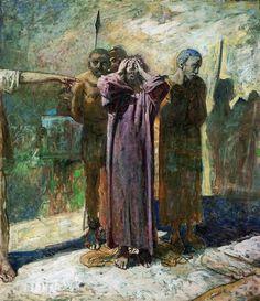 Golgotha Nikolai Ge, 1893
