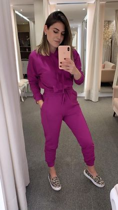 Purple Outfits, Casual Summer Outfits, Cool Outfits, Looks Chic, Casual Looks, Modest Fashion, Fashion Outfits, Street Style Looks, Fashion Books