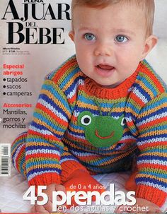 saved for the colours Vogue Knitting, Knitting Books, Crochet Books, Knitting For Kids, Crochet For Kids, Baby Knitting, Crochet Baby, Knit Crochet, Knitting Magazine