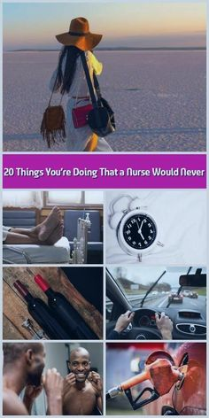 20 Things You're Doing That a Nurse Would Never Nurses spend their work live. Chronic Sleep Deprivation, Vintage Makeup Looks, National Sleep Foundation, Nail Biting, Life Care, Bad Habits, Listening To Music, How To Stay Healthy, How To Fall Asleep