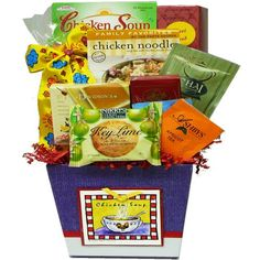 A Taste of Home Chicken Soup Get Well Gift Basket - http://mygourmetgifts.com/a-taste-of-home-chicken-soup-get-well-gift-basket/
